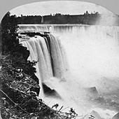 Horseshoe Falls as seen from Goat Island, Niagara Falls