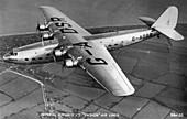 Imperial Airways Ltd Ensign Air Liner, c1930s
