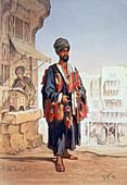 The slipper seller, 1862