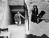 Tomb of Tutankhamun, Valley of the Kings, Egypt, 1923