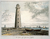The Orford Ness Lighthouses, Suffolk, 1822