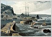 Mevagissey, Cornwall, 1825