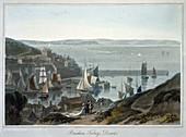 Brixham, Torbay, Devon, 1825
