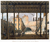 Warehouses, Wapping, Liverpool, 1832-1833