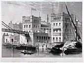 Hungerford Market, Westminster, London, c1847