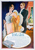 Advert for Sargol body shaping compound, 1921