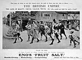 Eno's Fruit Salt advertisement, 1914