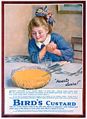 Bird's Custard advert, 1922