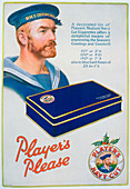 Advert for Player's Navy Cut cigarettes, 1928