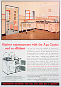 Advert for Aga cookers, 1936