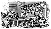 Scene from slave life, 1965