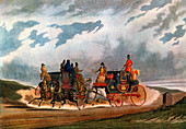 Half Way Leeds Coach, 1837