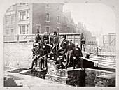 Holborn Valley Improvements Committee, London, 1869