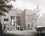 Unnamed tavern on Millbank, Westminster, London, 1826