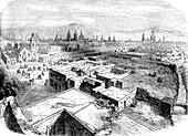 Mexico City, Mexico, mid 19th century