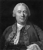David Hume, 18th century Scottish philosopher and historian