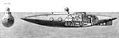 Submarine Boat Nautilus, 1887
