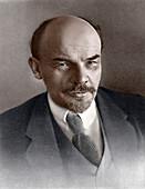 Vladimir Ilyich Ulyanov, Russian Bolshevik revolutionary