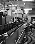 Soft drink bottling plant, Swinton, South Yorkshire, 1961