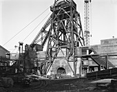 Rossington Colliery, Doncaster, South Yorkshire, 1964