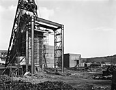 The main fan drift at Rossington Colliery, Yorkshire, 1966