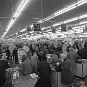 Asda supermarket, 1969