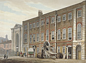 Portugal Street, Westminster, London, 1811
