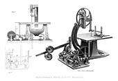 Greenwood's Wood Sawing Machine, 1886