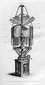 Lighthouse revolving dioptric apparatus, 1866