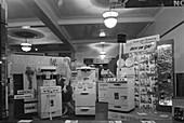 East Midlands Gas Board shop window cooker display, 1961