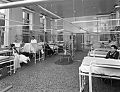 Patients on a men's surgical ward, 1968