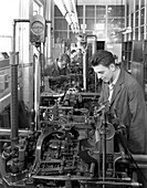 Monotype casting machine, 1959