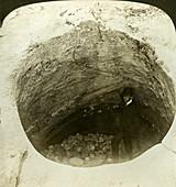 A giant's cauldron, Norway