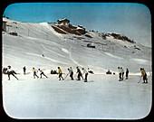 Ice hockey, St Moritz, Switzerland