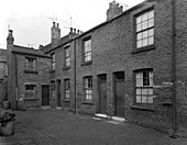 Traditional terraced housing, Yorkshire, 1959