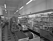 Carlines Self Service Store, South Yorkshire, 1960