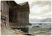 Fingal's Cave, Staffa, Outer Hebrides, Scotland, 1814