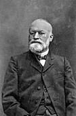 Alphonse Laveran, French physician, 1917