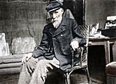 Pierre-Auguste Renoir, French artist, 1917