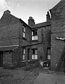 Typical pit housing, Yorkshire, 1963