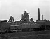 A view of Horden Colliery, County Durham, 1964