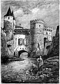Porte des Allemands, Metz, France, 16th century