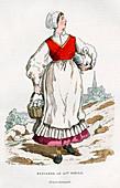 Peasant woman, 15th century