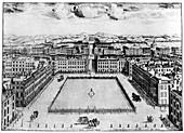 Hanover Square, London, 18th century