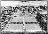Southampton or Bloomsbury Square, London, 18th century