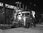 Tilghman electric arc furnace, 1964