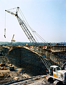 Construction of the Needle Eye Bridge over the M1, 1963