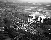 Lea Hall Colliery and Rugeley A Power Station, 1963