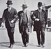 Three American businessmen, 1900s