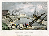Dock Yard, Sheerness, Kent, 1830